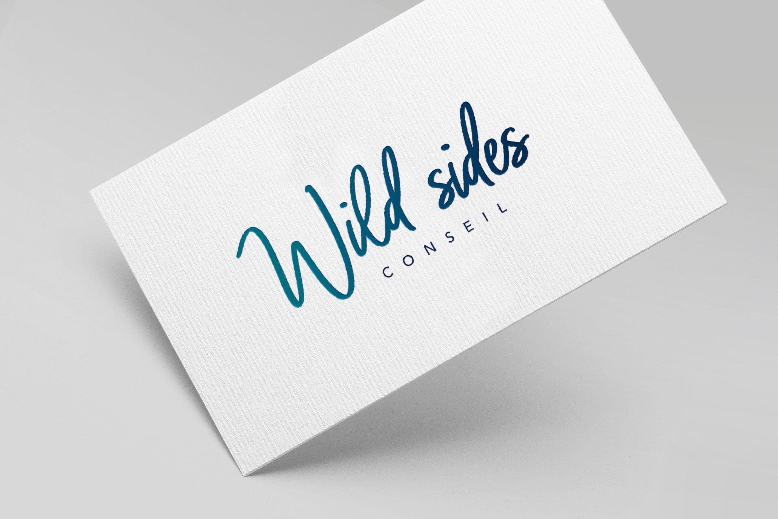 Studio Eckla - Aurélie Marcellak | Logo, identité visuelle Wild Sides Conseil