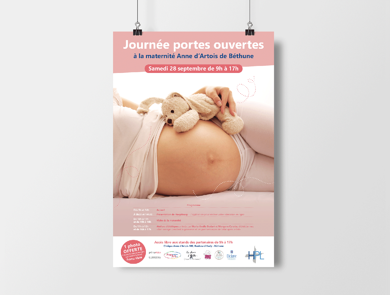 Studio Eckla - Affiche maternité - Groupe HPL