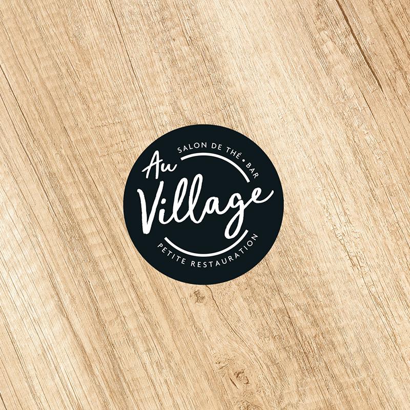 Studio Eckla - Identité visuelle Au Village