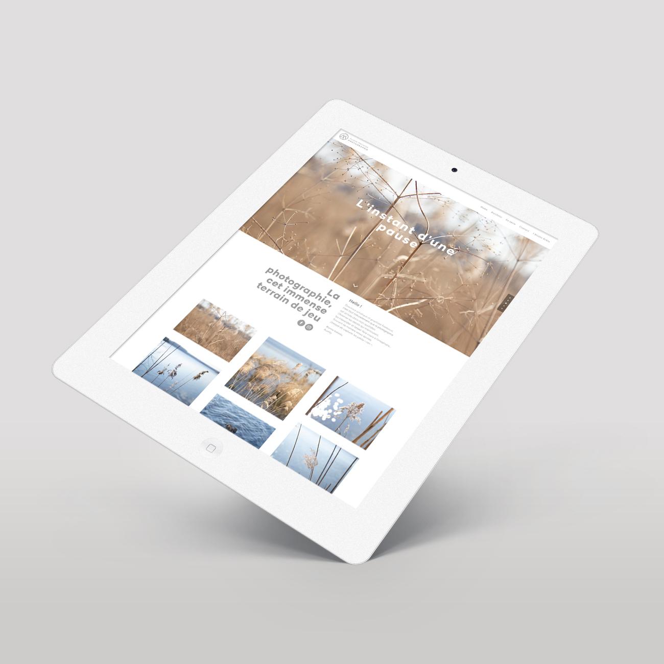 Studio Eckla - Aurélie Marcellak | Conception et réalisation du site internet Aurélie Marcellak Photographie
